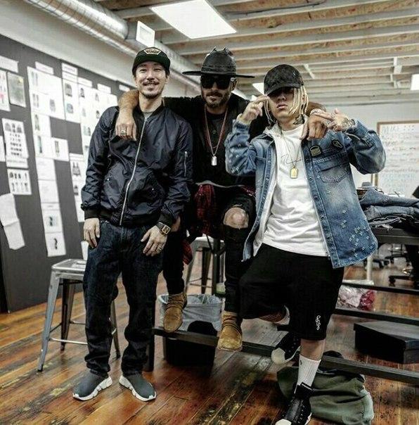 #SMTM6 #Dok2_instagramDok2 с Tiger JK и Mike Amiri в LA.