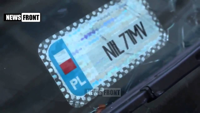 НАДОМНИКИ Ополченцы захватили у польских наемников джип, во время боя под Станицей Луганской
