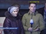 Дебальцево.23 ноября,2014.Жительница Дебальцево пообщалась с майданом, но он ее не слышал (прямой эфир)