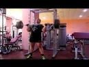 Армейский жим стоя 100 кг на 15 повторов