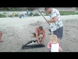 Рыбалка на цемлянском водохранилище. г. Волгоград