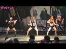 Waveya Korean dance team 웨이브야 (Beyonce,miss A) single ladies