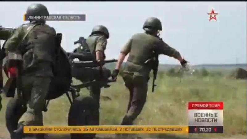 Минометчики ЗВО открыли контрбатарейный огонь