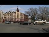 Томск, 25,04,17 Грубое нарушение ПДД автомобилем такси - проезд на запрещающий сигнал сфетофора!