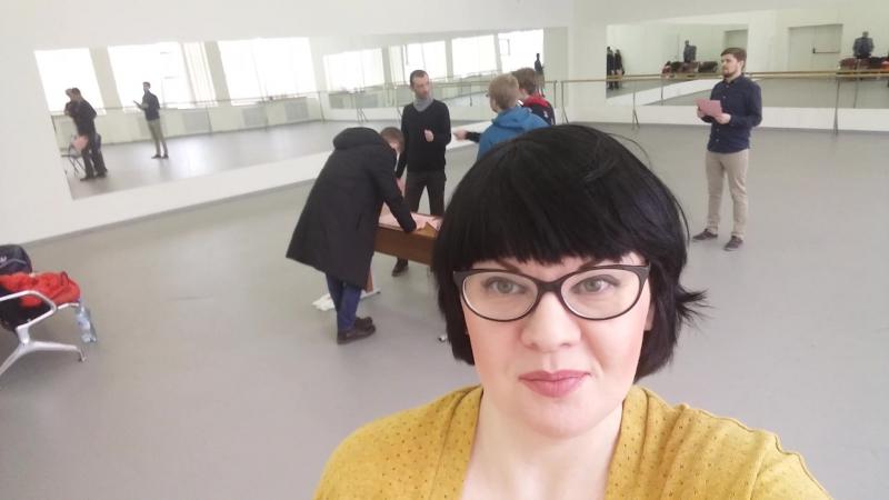 19/01/2017 Репетиция бэкстейдж ВГИК
