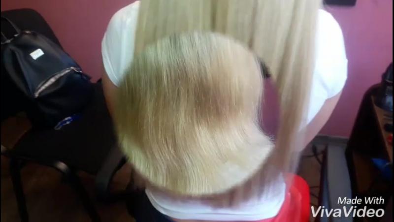 Наростили Даші 100г волосся, довжиною 50см