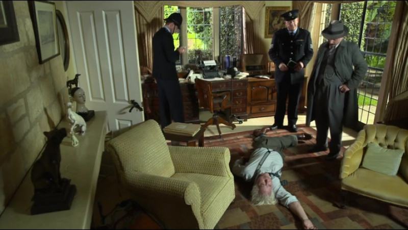 Father Brown. (2013). S05E14. The Fire in the Sky.
