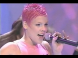 P!nk  There you go (live @ Top of the Pops UK 2000)