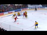 Кубок Первого канала 2016. Швеция - Россия 3:1. Обзор матча