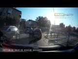Дикий велосипедист | ДТП авария