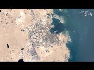 Google Timelapse - Doha, Qatar