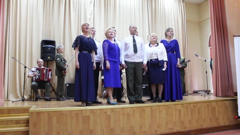 Северский кадетский корпус на первом Фестивале Департамента общего образования Томской области. (май 2017 года).