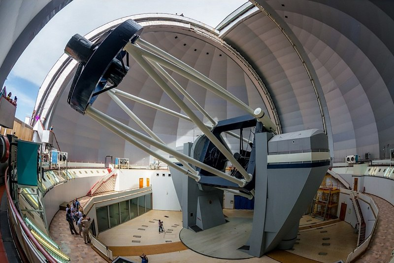 Зеркало телескопа САО РАН отполировали в Подмосковье