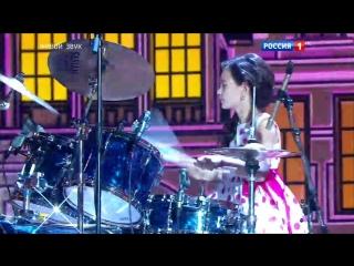Синяя птица. Филимонова Екатерина (ударные). Евгений Папунаишвили и Екатерина Цыброва