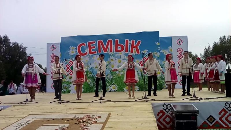 ансамбль Туймо Мари на республиканском празднике Семык с Ильнеть 03 06 2017