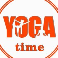Логотип Йога в городе Бор. Студия YOGA time.
