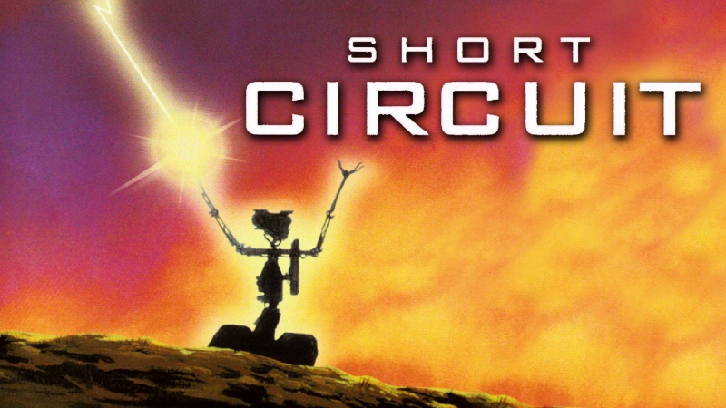 Short Circuit -John Badham 1986 Fisher Stevens Steve Guttenberg Ally Sheedy