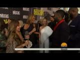 Keith Urban, Reba McEntire, Thomas Rhett On The CMT Awards Red Carpet