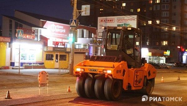 Мэрия: САХ завершило ремонт дорог в Томске досрочно.
