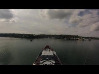 Прохождения пролива Босфор.Турция