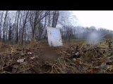 Полуавтоматическая рср Semi Automatic PCP air rifle - пострелушки под дождем