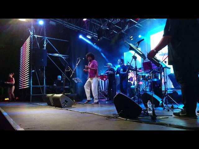Alvaro ATEHORTUA Y SU CHIRIMIA orquestra @live fiesta 24 giugno 2016 salsa rumba son timba