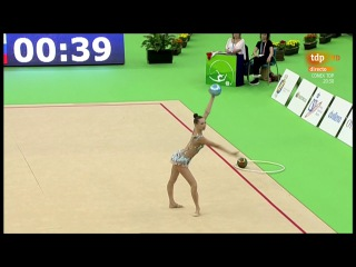 Полина Хонина - мяч (многоборье) // World Challange Cup 2017, Гвадалахара