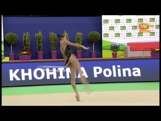 Полина Хонина - обруч (многоборье) // World Challange Cup 2017, Гвадалахара