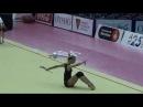 Irina ANNENKOVA (RUS) clubs training - 2017 Trofeu de Barcelona