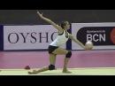 Karina KUZNETSOVA (RUS) ball training - 2017 Trofeu de Barcelona