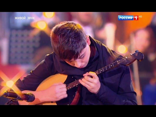 Глеб Бондарь - Домра - Вариации на цыганскую мелодию Мар Дяндя Синяя птица 2016