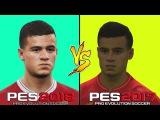 PES 2018 VS PES 2017 | Сравнение лиц игроков Ливерпуля