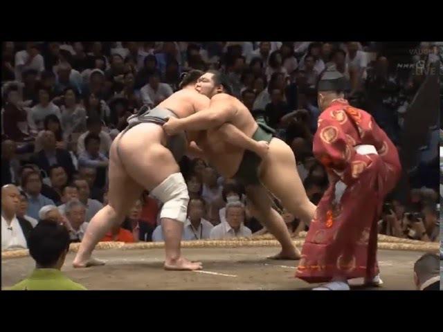 Sumo -Aki Basho 2017 Day 10, September 19th -大相撲秋場所2017年 10日目