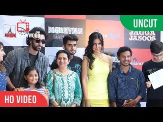 UNCUT - Jagga Jasoos Team At Reliance Digital | Ranbir Kapoor, Katrina Kaif