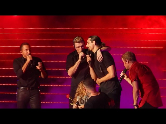 Backstreet Boys - Shape Of My Heart (with Ava) - 6/15/17 - Las Vegas BSBVegas