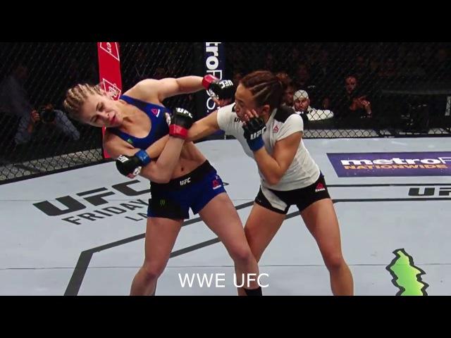 UFC ON FOX Namajunas vs Waterson Highlight
