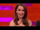 Emilla Clarke Eyebrow-Off - The Graham Norton Show