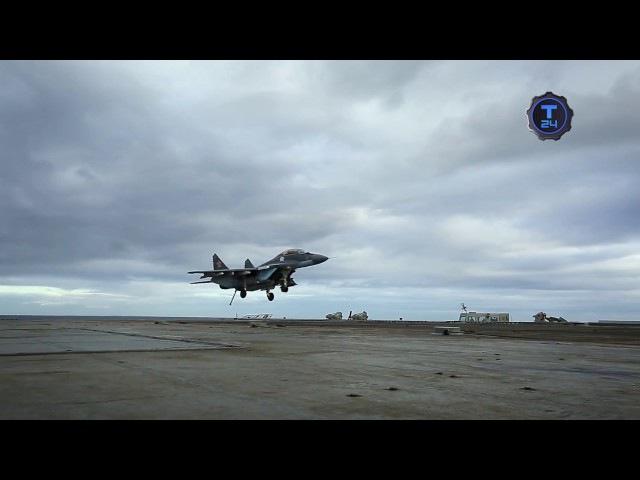 Как пилоты выдерживают перегрузки Адмирал Кузнецов Т24