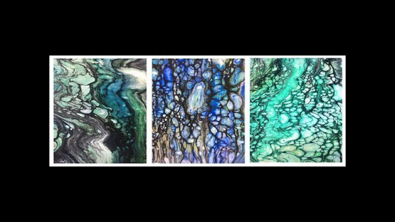 Day-11 Primary Elements- NEW Swipe-Direct color to acetate- paint mixing- Leslie Ohnstad