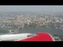 Rossiya Airbus A319 landing