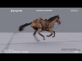 Steven Spielberg's film War Horse Animation by Scott Eaton