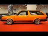 Volkswagen Fox US 1988 1.8L Turbo 215 PS H&ampR Gewindefahrwerk, 3-teilige Kreuzspeichen-Design 7jxR17