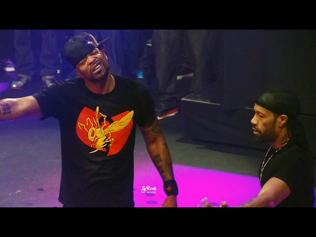 Method Man Redman Live in L A w Special Guest RZA 2017 HD