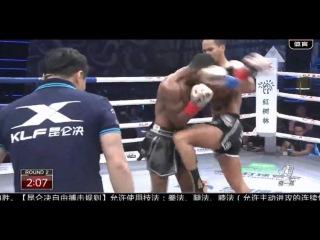 Superbon Banchamek - Cedric Manhoef, 01.01.17, Kunlun Fight 56