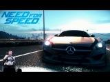 Дёрганый фриц - Mercedes AMG GT - NFS 2015/2016 на руле Fanatec Porsche 911 Carrera GT