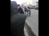 26 марта 2017 ,Кострома,задержание пикетчика на (не)митинге в честь димона.