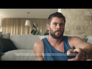 Menu starring Chris Hemsworth - Foxtel Make it Yours TV ad