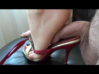Mules cock trample / cock crush / shoejob / footjob / foot fetish