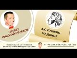 Николай Обабков читает А.С. Пушкина - Мадонна