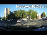 В Иванове водитель на зебре не уступил дорогу пешеходу гибдд